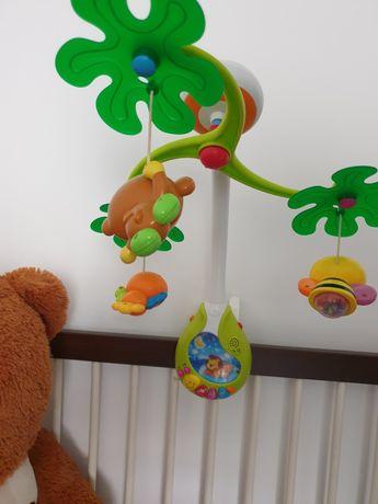 Pătuț copii +carusel