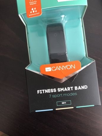 Смарт часовник CANYON Ergonomic Fitness Band