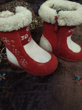 Зимние сапоги на 2 годика