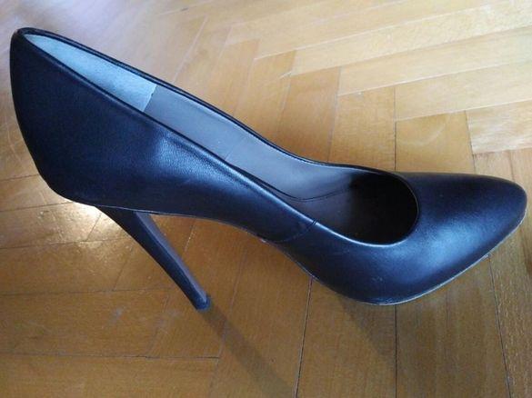 Оригинални кожени обувки Versace Collection