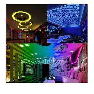 Banda decorativa LED RGB - 5 metri cu led si telecomanda
