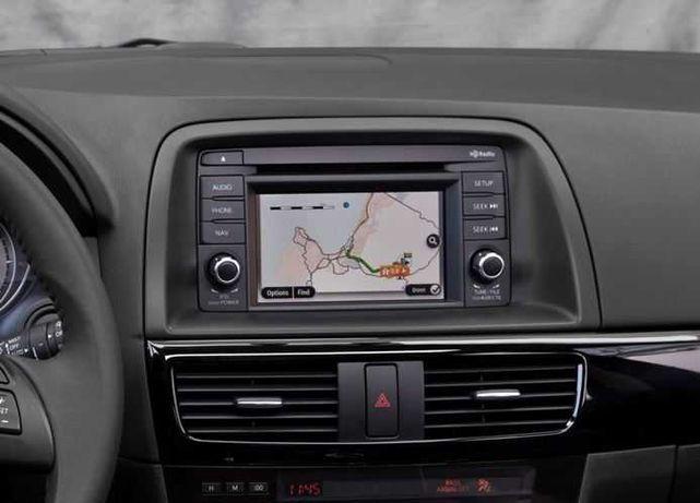 Harti navigatie Europa 2021 Mazda TomTom NB1 pentru Mazda 6 CX-5 CX-9