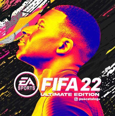 Игры для приставок (закачка) FIFA22 на playstation 4 sony ps4 ps5 сони