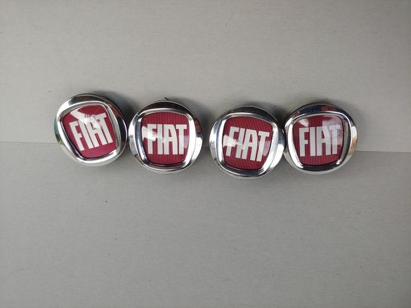 50мм Капачки за джанти за ФИАТ FIAT 500 Браво Пунто Панда Албеа Линеа
