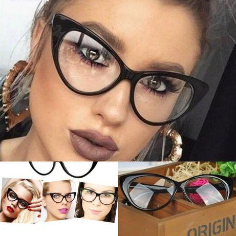 Разпродажба-50%TOM FORD Дамски котешки очила със стъкла без диоптър