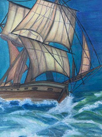 Vand tablou pictat manual