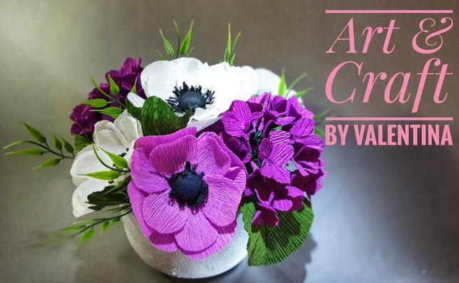 Buchete de flori din hartie, hand made.