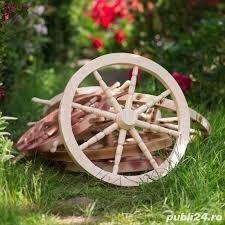 Roata din lemn