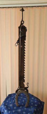 Лампа подова, Кована желязо 17-ти век,