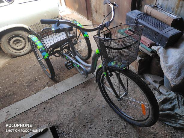 Продам трёхколёсный велосипед.