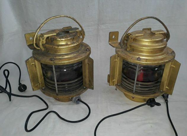 Felinar / Felinare navale vechi din bronz / Old naval braas lanterns