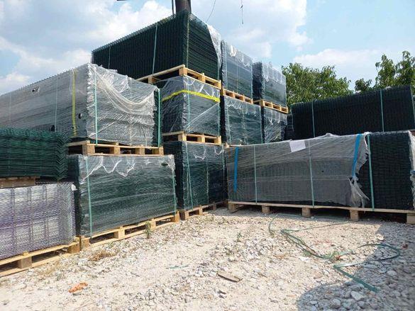Оградни пана налични на склад