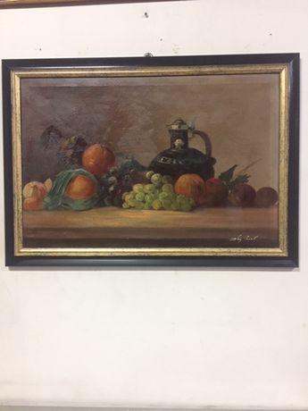 Tabblou autentic,pictura in ulei...semnat!