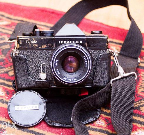 Aparat foto pe film foarte rar IFBAFLEX