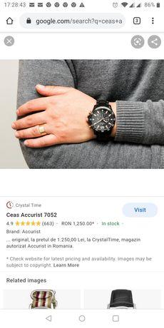 Ceas  de bărbați accurist original
