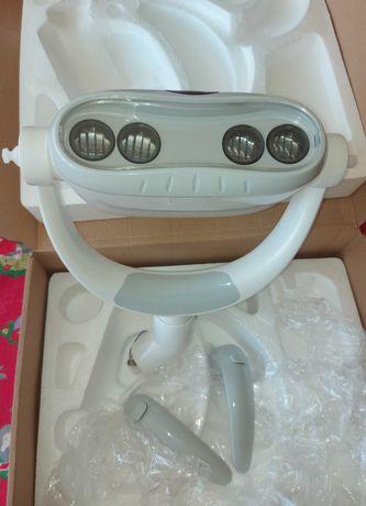 Vand lampa pentru unit dentar cu brat mobil