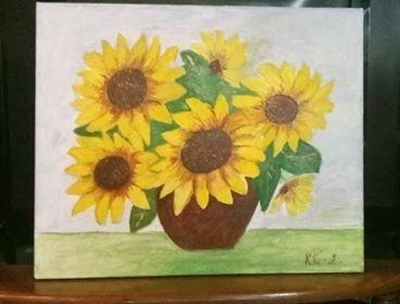 "Картина ""Слънчогледи"""