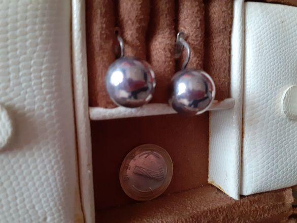 Сребърни обеци 925