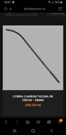 Cobra carbon tazura 128cm 26mm