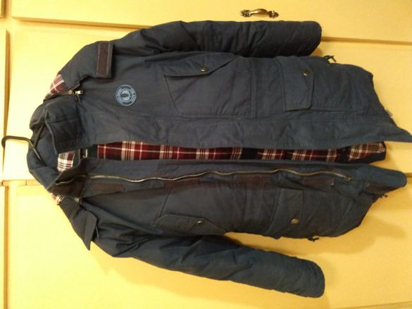 Fred Perry Arctic parka.