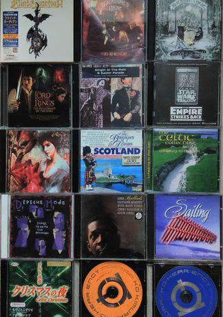 Музикални компакт дискове CD - издадени в Япония и други