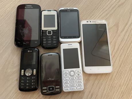 Стари телефони Nokia, Privileg, Alcatel, LG, HTC, Huawei