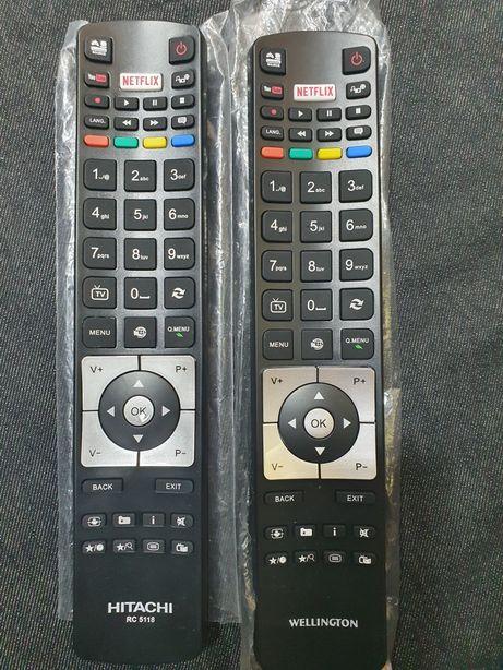 Telecomanda tv HITACHI,WELLINGTON, Netflix,nou, originale