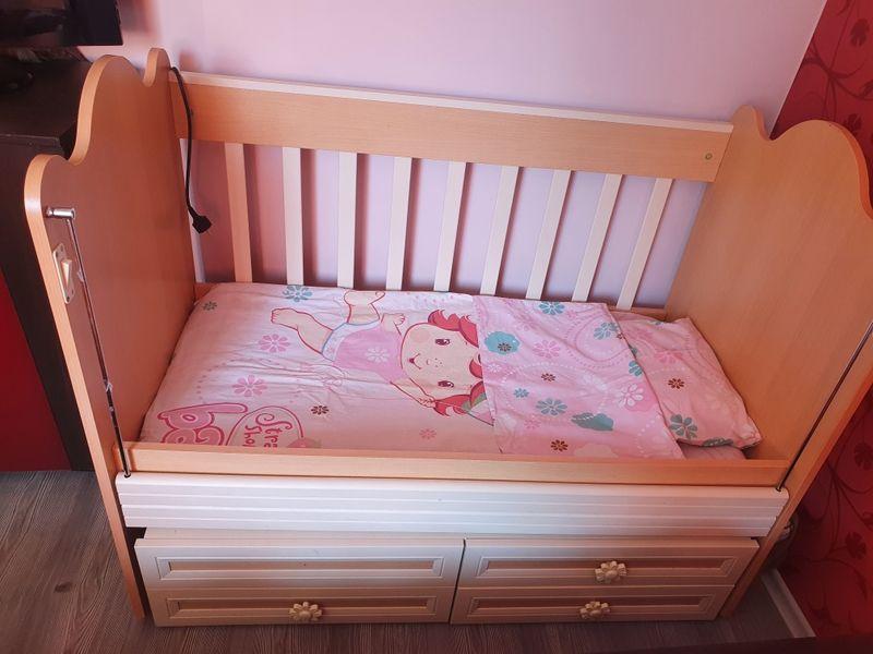 Детско легло +дюшек гр. Гоце Делчев - image 1