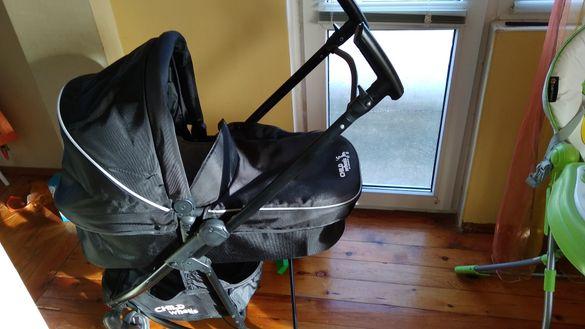 Детска количка Child wheels trio loop (зимен и летен кош и кош за кола