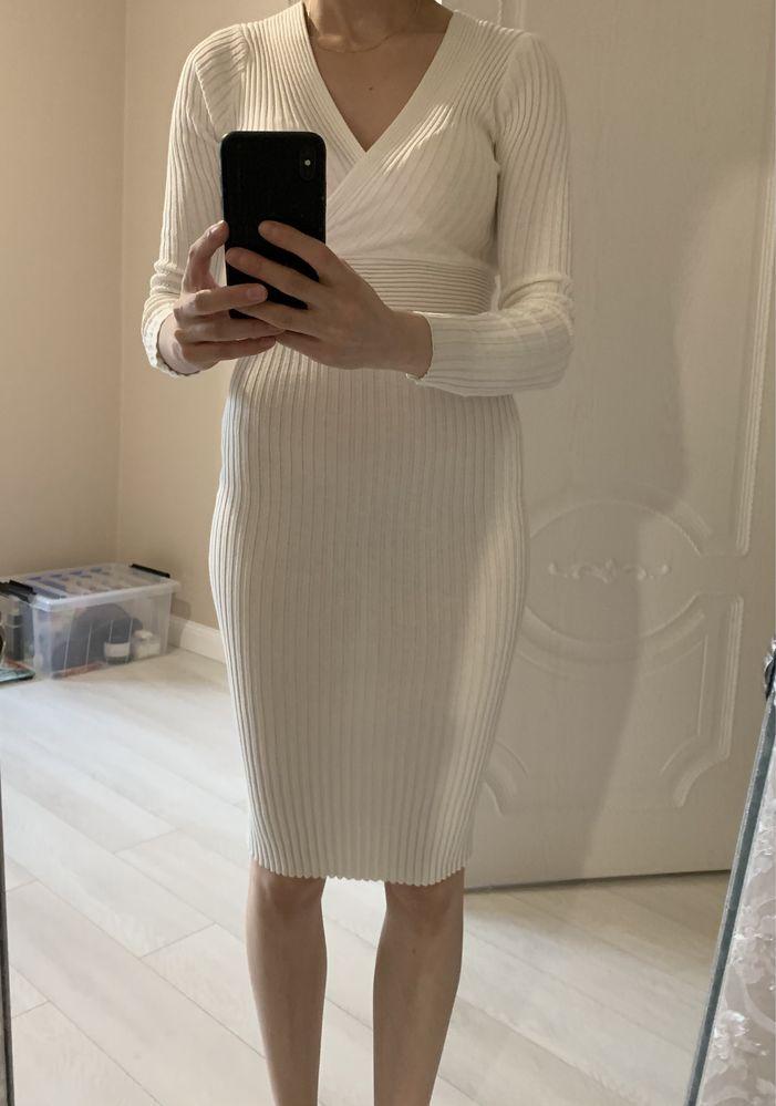 Продаю новое белое платье!