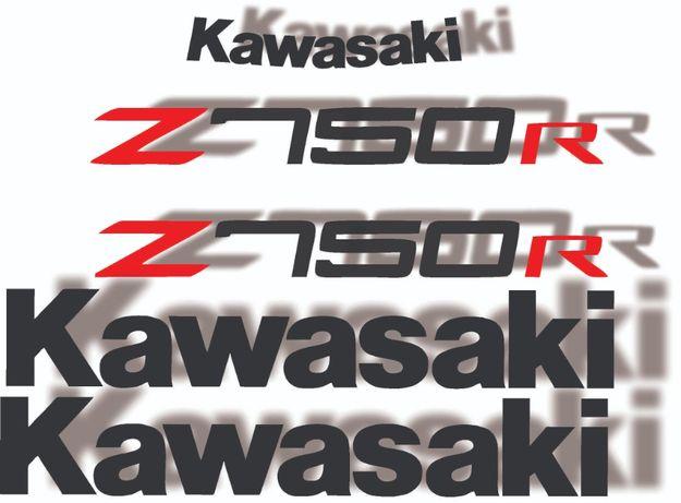 Kit stickere kawasaki z1000 z750 zr750 zr1000 z750r z1000r
