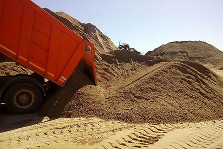 Песок глина щебень ПГС