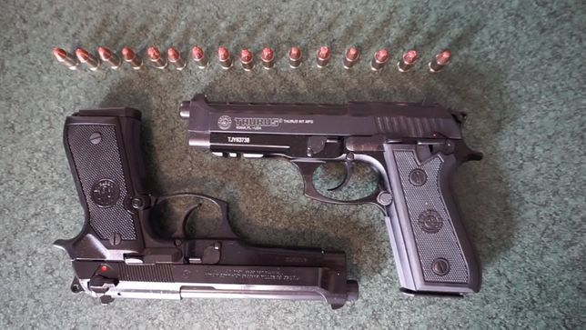 Pistol FULL Metal *MODIFICAT* NOU airsoft CO2 Cu AER Comprimat Pusca