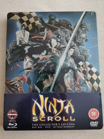Ninja Scroll Steelbook Limited Edition Blu-Ray Sigilat