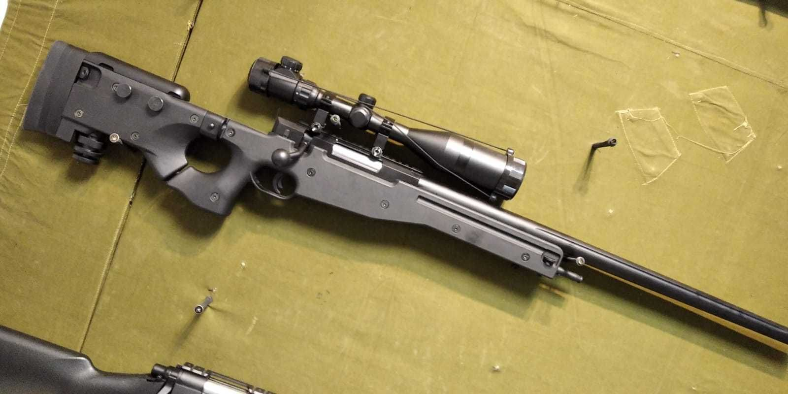 Pusca sniper L96 CM706 black 2,7Joules  Upgraded CYMA
