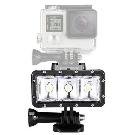 Осветление за подводни снимки за екшън камери gopro и др.   hdcam.bg
