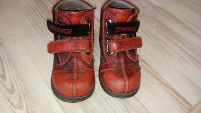 Детские ботинки весна осень