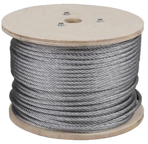 Cablu zincat otel sufa 5 mm 100 metri Nou