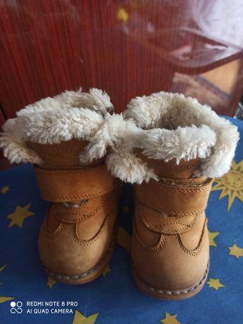 Сапожки детские зимние