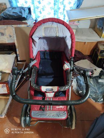 Детская коляска в хорошем состояние цена 25 000 тенге