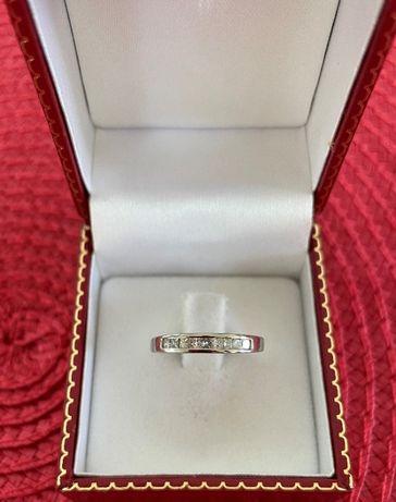 Inel aur 14k cu diamante 0.25