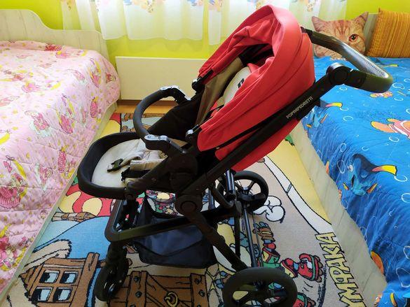 Бебешка количка FOPPAPEDRETTI 3CHIC 3 в 1