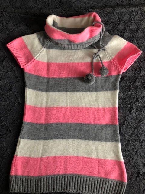 Розов пуловер с къс ръкав гр. Варна - image 1