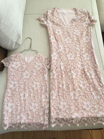 Еднакви рокли за мама и дъщеричка