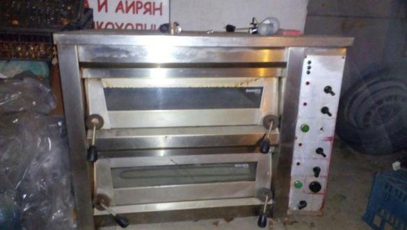 Печка за пици и закуски трифазен ток