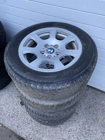 Диски с зимней резиной для BMW r16