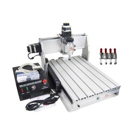 НОВ СЕТ: 3-осов Професионален CNC Рутер/Фреза с USB порт+софтуер GRBL