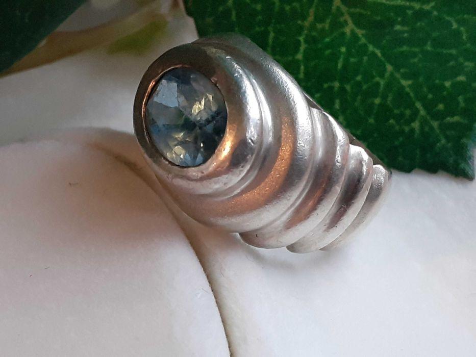 Inel argint topaz Craiova - imagine 1