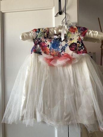 Бебешка лятна рокля-за 1 годинка