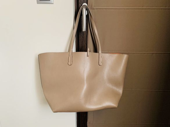 Чанта на Зара - двулицева